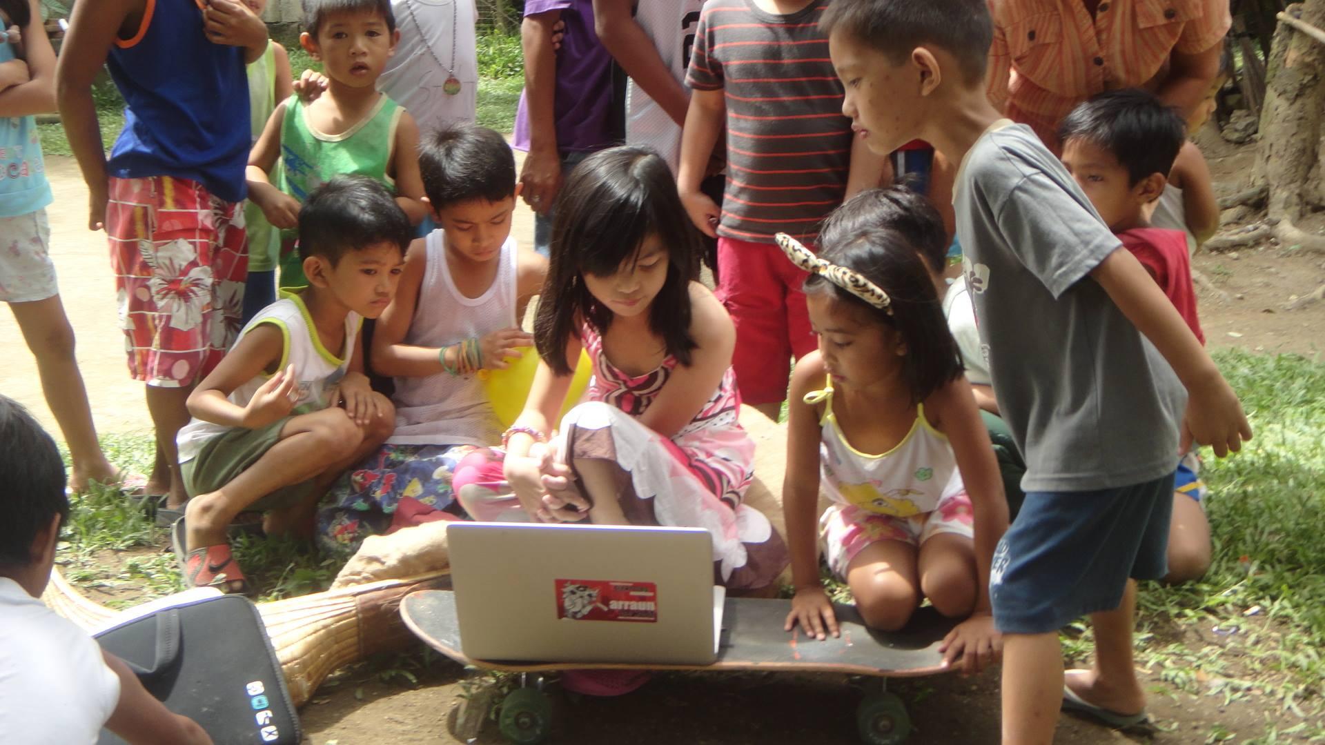 O Olentzero Munduan Filipinas
